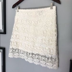 Streetwear society cute lace over mini skirt